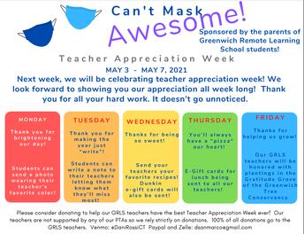 GRLS Students Celebrate Teacher Appreciations Week!