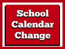 CFBISD Calendar Change