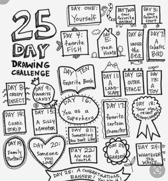 Drawing Challenge Reminders