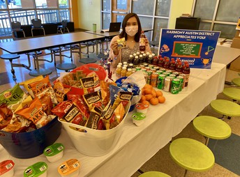 Snack Bar from Austin District Office!