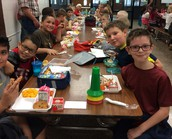 Lunch with Mrs. Kennedy's Class