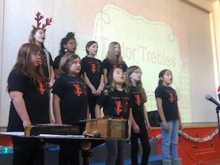 Taylor Trebles Choir!