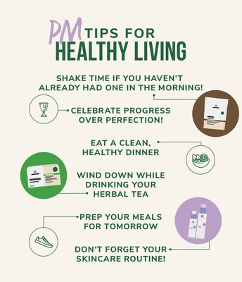 PM TIPS FOR HEALTHY LIVING