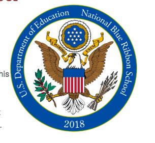 Washington School - National 2018 Blue Ribbon School