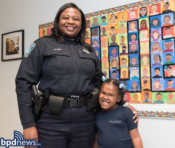 Boston Police Department and Lower Mills Campus Partnership