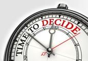Seniors…It's decision time!