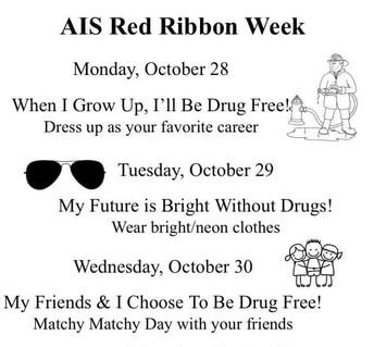 AIS Red Ribbon Week: