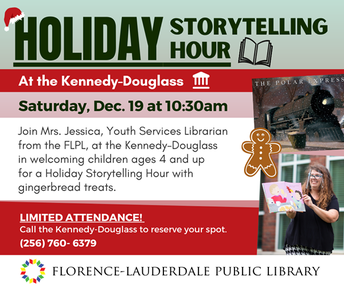 Kennedy-Douglass Center for the Arts Holiday Storytelling Hour