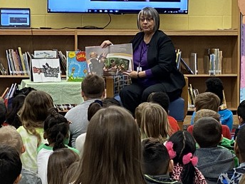 Guest Reader: Superintendent Cathy Moore!