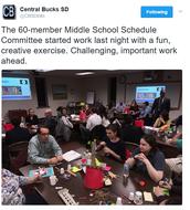 Middle School Schedule Committee