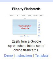 Creating Flashcards with Flippity