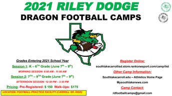 Dragon Football Camp
