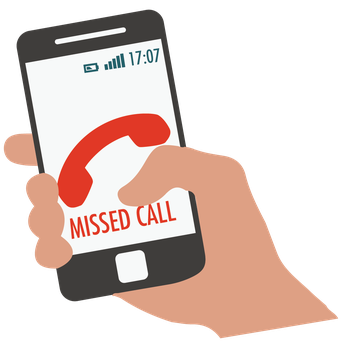 RETURNING MISSED CALLS FROM IHS