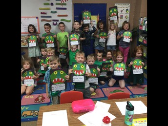 Ms. Ellifrits' Kindergarten Class