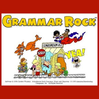 Schoolhouse Rock's Grammar Rock icon