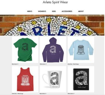 ORDER ARLETA SPIRIT WEAR ANYTIME / ANYWHERE