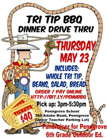 ORDER TODAY! Tri Tip Dinner Drive Thru