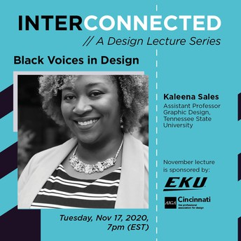 Interconnected Series with Kaleena Sales on Nov. 17