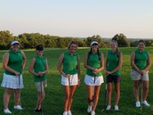 Inaugural Girl's Golf Team!