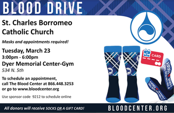Blood Drive March 23