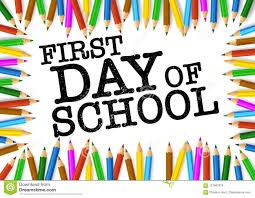 First Day of School: August 27th