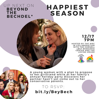 Beyond the Bechdel* Happiest Season - Screening & Discussion