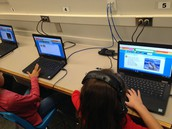 Researching animals with PebbleGo!