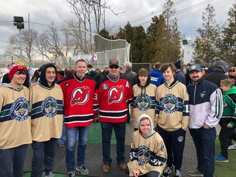 Ice Hockey Participates in Challenger Sports