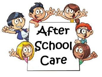 If you are interested in after school care...