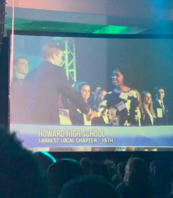 HHS is largest local chapter!