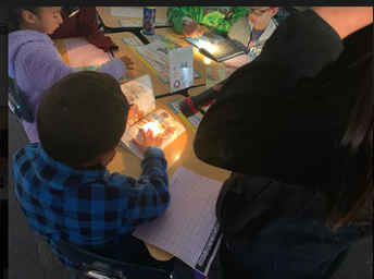 Flashlights make learning more intriguing.