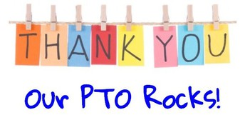 PTO Funds- THANK YOU PTO FOR YOUR SUPPORT!
