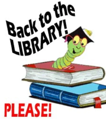 A Message From our Library and Mrs. Calbreath