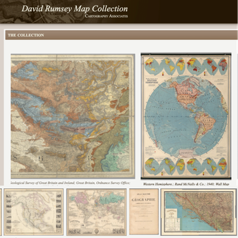 Dave Rumsey Map Collection screenshot