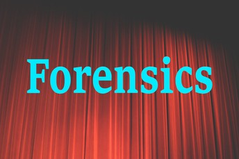 FORENSICS MEET THIS SATURDAY AT WLHS