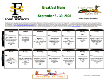 VBCPS Meal Services