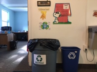 Recycling Center (my office)