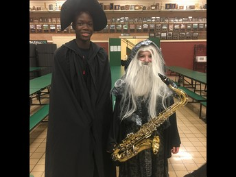 A couple of wizards...