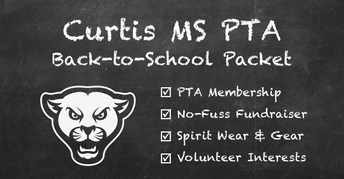 PTA Back To School: Membership, Donate, Volunteer, Spirit Wear
