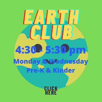 Earth Club - Let's Get our hands dirty!