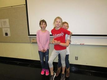 3rd Place - Lia Wilson, Heidi Bock, and Haley Johnson/Comedy Skit