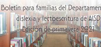 junta de Dislexia para las familias