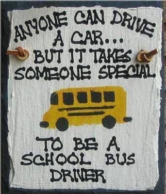 We Love our Bus Drivers!!!