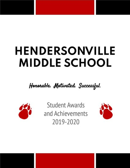 Hendersonville Middle School Awards Booklet