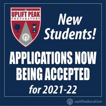 ¡La aplicación para nuevos estudiantes para el año escolar 2021-22 ya está abierta!