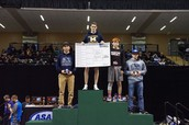 Jared Brant wins Title at 138 pounds