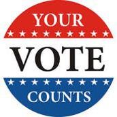 Election Day! Tuesday, November 3, 2020!