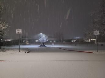 Snow at BC - 2021