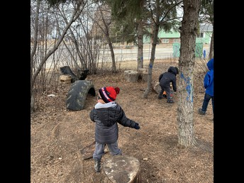 Outdoor Play in Pathways