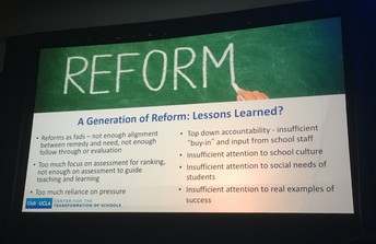 Transformation not Reform